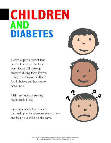 information on teen diabetes